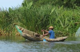 Pirogue traditionnel Betsimisaraka